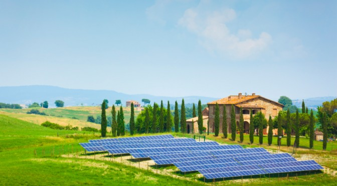 fotovoltaico in Italia Ecotecno Group